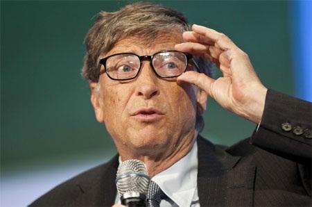 Tỷ phú giàu nhất thế giới hiện nay Bill Gates.