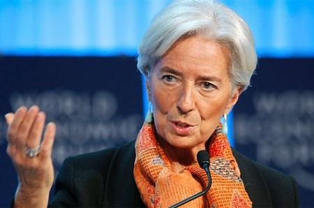 Bà Christine Lagarde, Tổng giám đốc IMF.