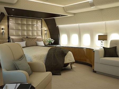 Boeing 747-8 VIP sang trọng hơn bất kỳ máy bay tư nhân nào khác từng có trên thế giới…