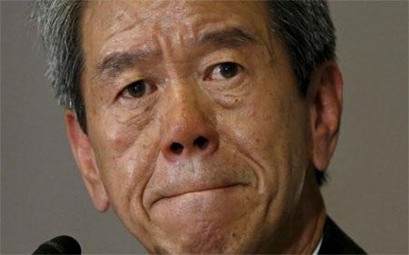 CEO Toshiba, ông Hisao Tanaka.