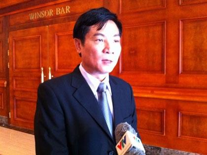 Ông Trần Quang Trung, Cục trưởng Cục ATVSTP. Ảnh: H.Hải