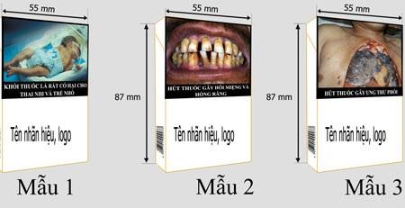 Những mẩu cảnh báo nguy cơ sức khỏe của thuốc lá gây ấn tượng mạnh được nhiều người ủng hộ.
