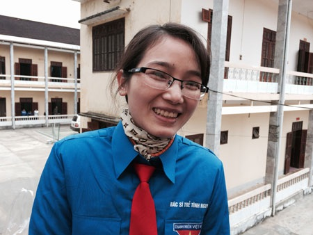 Cô gái Hà Nội nhỏ bé Hồng Yến quyết định về công tác miền núi để cống hiến sức trẻ