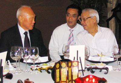Thủ tướng Võ Văn Kiệt và Thủ tướng, Bộ trưởng Cao cấp Lý Quang Diệu