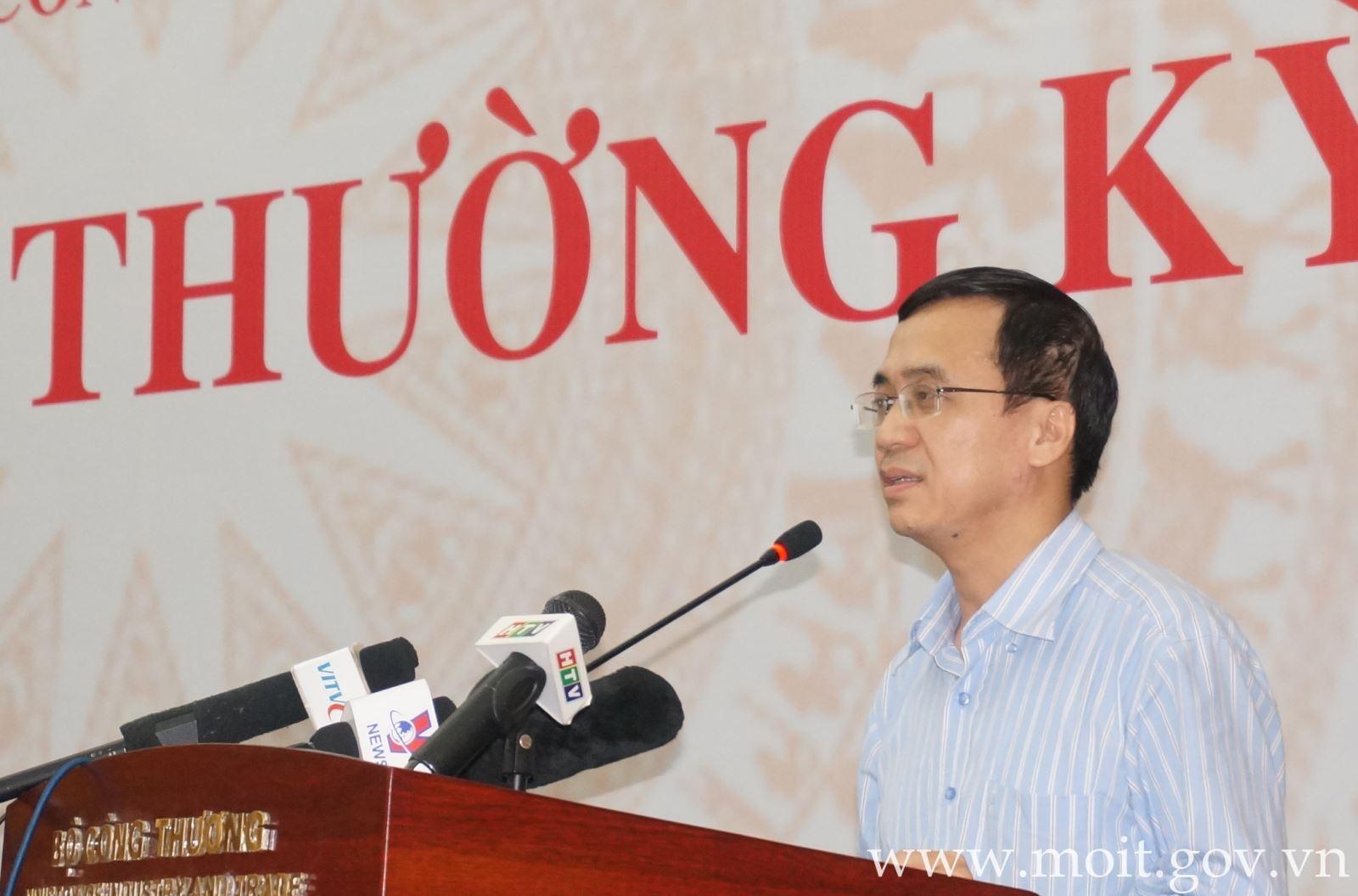 Ông Đinh Thế Phúc - Phó Cục trưởng Cục Điều tiết điện lực, Bộ Công Thương