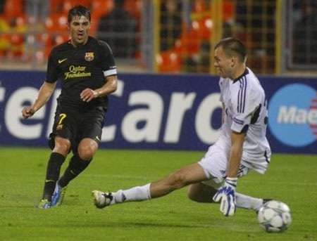 """Messi lập cú đúp trong thắng lợi """"5 sao"""" của Barcelona - 2"""