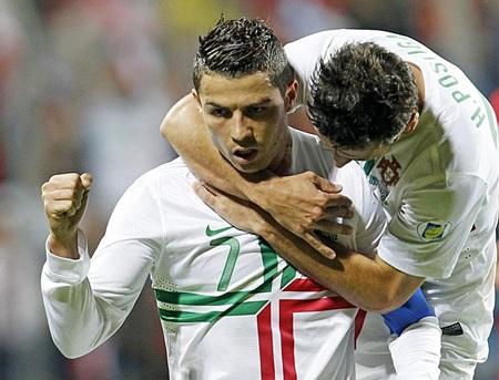 C. Ronaldo tỏa sáng với một bàn thắng vào lưới Luxemburg