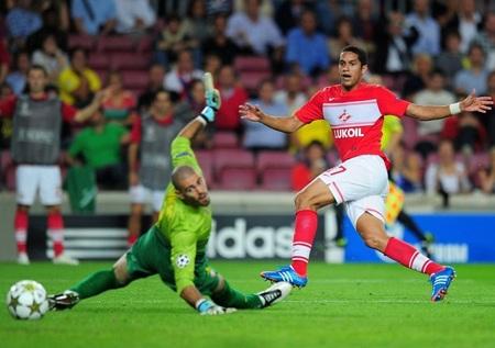Romulo khiến sân Nou Camp chết lặng với bàn thắng đưa tỷ số lên thành 2-1