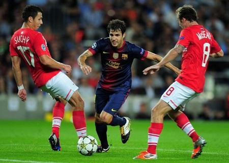 Barca gặp nhiều khó khăn trong việc triển khai tấn công