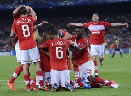 Spartak Moscow mơ về điều kỳ diệu ở Nou Camp