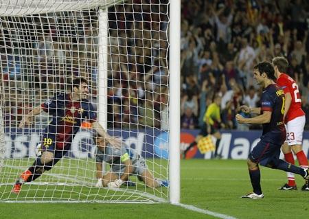 CLB xứ Catalan đã có chiến thắng trong ngày mở màn vòng bảng Champions League