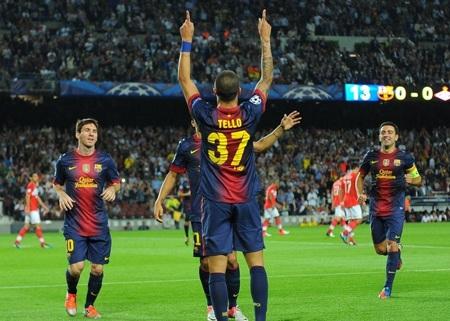 Tài năng trẻ gốc La Masia chính là cầu thủ chơi ấn tượng nhất ở Nou Camp