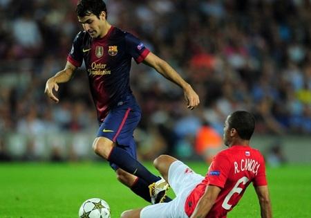 Barcelona thực sự gặp nhiều khó khăn trước Spartak Moscow
