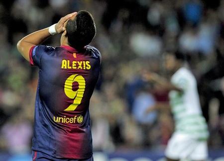 Alexis Sanchez đã có một trận đấu khá thất vọng