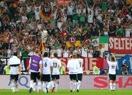 Hầu hết các cầu thủ tài năng của nước Đức đều chơi bóng ở Bundesliga