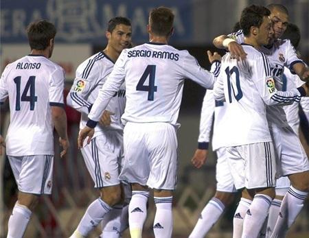 Real Madrid tiếp tục thể hiện phong độ đáng sợ tại La Liga