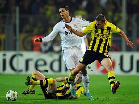 Sự tỏa sáng của C. Ronaldo không thể giúp Real Madrid tránh thất bại