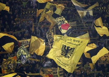 Niềm vui của các CĐV Dortmund
