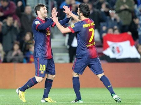 Barcelona đã có một trận đấu hoàn hảo trước Osasuna