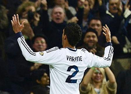 ...giúp Real Madrid giành được trận hòa 1-1 tại Bernabeu