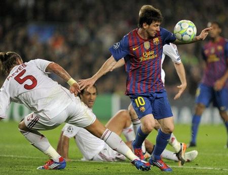 Lionel Messi có sứ mệnh giúp Barcelona vượt qua Milan