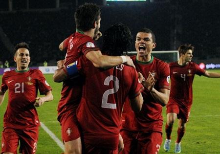 Bồ Đào Nha giành chiến thắng quý giá trên sân Azerbaijan