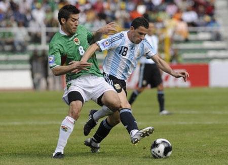Argentina từng thua Bolivia 1-6 tại La Paz cách đây 4 năm