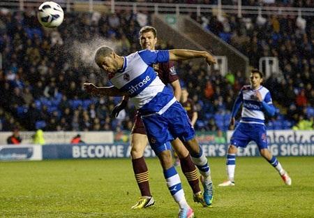 Reading đã không còn mục tiêu phấn đấu khi đối đầu Man City