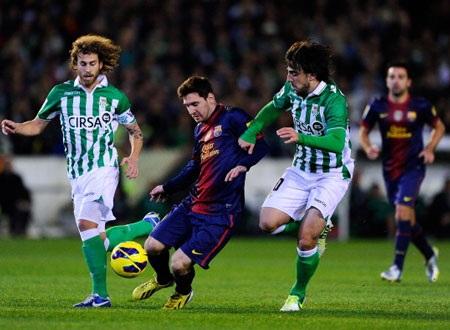 Messi và đồng đội hạ quyết tâm đánh bại Betis