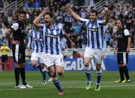 Sociedad trước cơ hội giành vé dự Champions League mùa tới