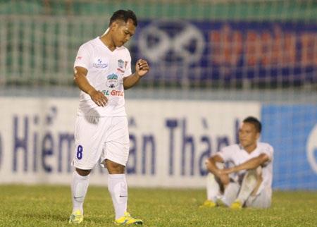 HA Gia Lai đang gây bất ngờ ở V-League năm nay - Ảnh: Sơn Dũng
