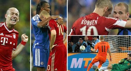 Robben đã thất bại ở3 trận chung kết đáng nhớ trong sự nghiệp