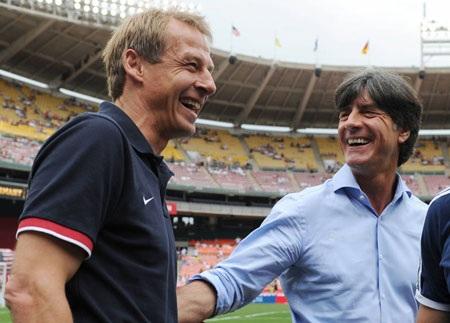 Klinsmann có dịp tái ngộ đồng nghiệp cũ Joachim Loew