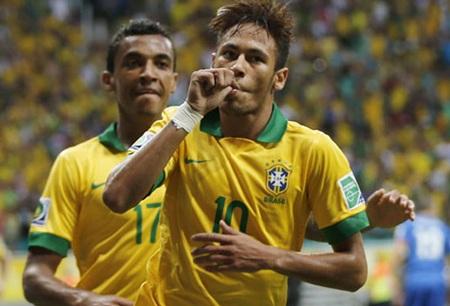 Brazil được đánh giá cao nhờ lợi thế sân nhà