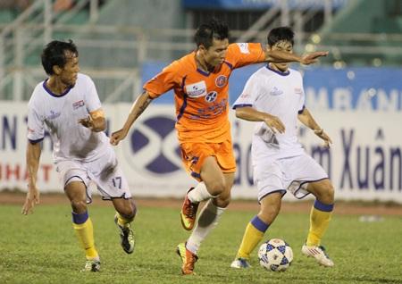 XMXT Sài Gòn chưa thể hiện được mình ở V-League - Ảnh: Sơn Dũng