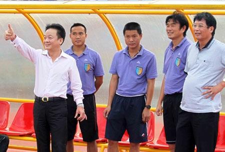 Hà Nội T&T của bầu Hiển 2 lần vô địch V-League sau 4 mùa giải - Ảnh: Sơn Dũng