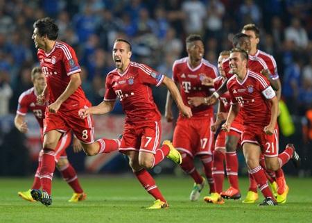 Bayern Munich giành Siêu Cup châu Âu đầy nghẹt thở tại Eden Arena
