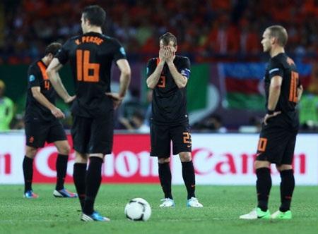 Hà Lan quyết tâm phục hận thất bại cách đây 1 năm