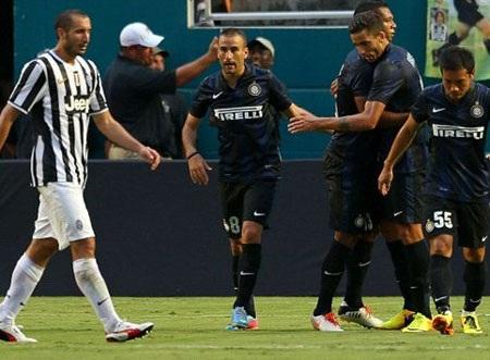 Inter đánh bại Juventus đầy nghẹt thở sau loạt đấu súng