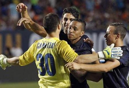 Thủ thành Carrizo trở thành người hùng của Inter Milan