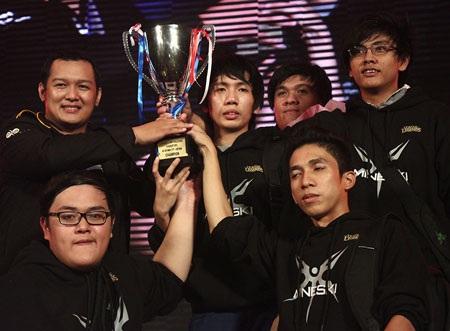 Mineski bất ngờ vô địch Liên Minh Huyền Thoại Đông Nam Á 2013
