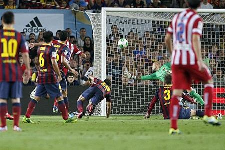 Barcelona phải rất vất vả mới có thể hòa Atletico