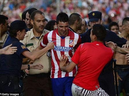 David Villa được đặt khá nhiều kỳ vọng ở Atletico