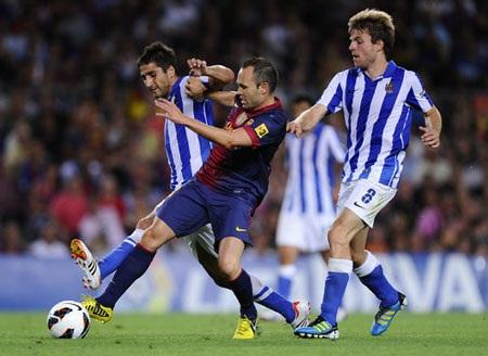Sociedad đã gây tiếng vang lớn khi đứng thứ 4 La Liga mùa trước