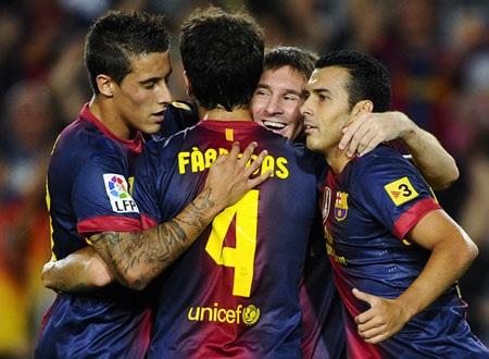 Barca đang đạt phong độ cao tại La Liga năm nay