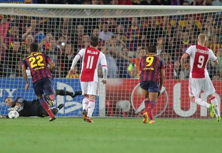 Barcelona đã có chiến thắng ấn tượng ở ngày mở màn Champions League