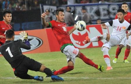 U19 Việt Nam đã có một trận đấu trên cơ - Ảnh: Gia Hưng