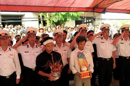 Tất cả đều tiếc thương về sự ra đi của liệt sỹ Đinh Văn Nam