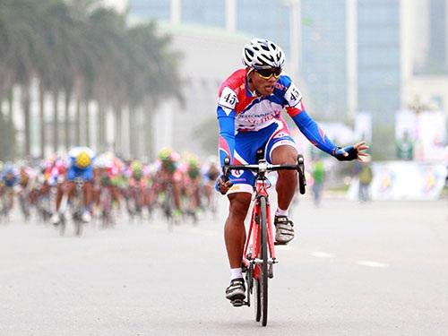 VĐV đua xe đạp Nguyễn Trường Tài