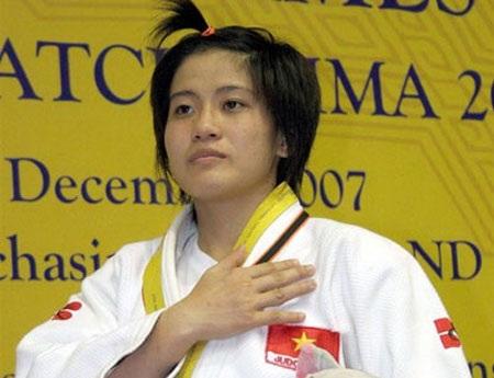 Võ sỹ Judo Văn Ngọc Tú